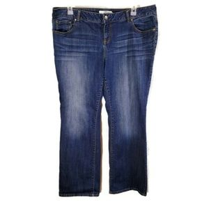 Torrid Jeans Plus Size 18R Boot Cut TOR5